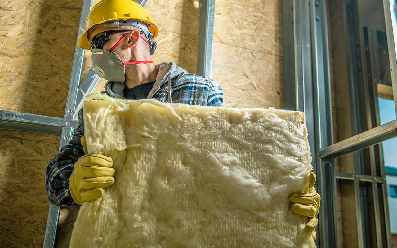 Fiberglass batts insulation services